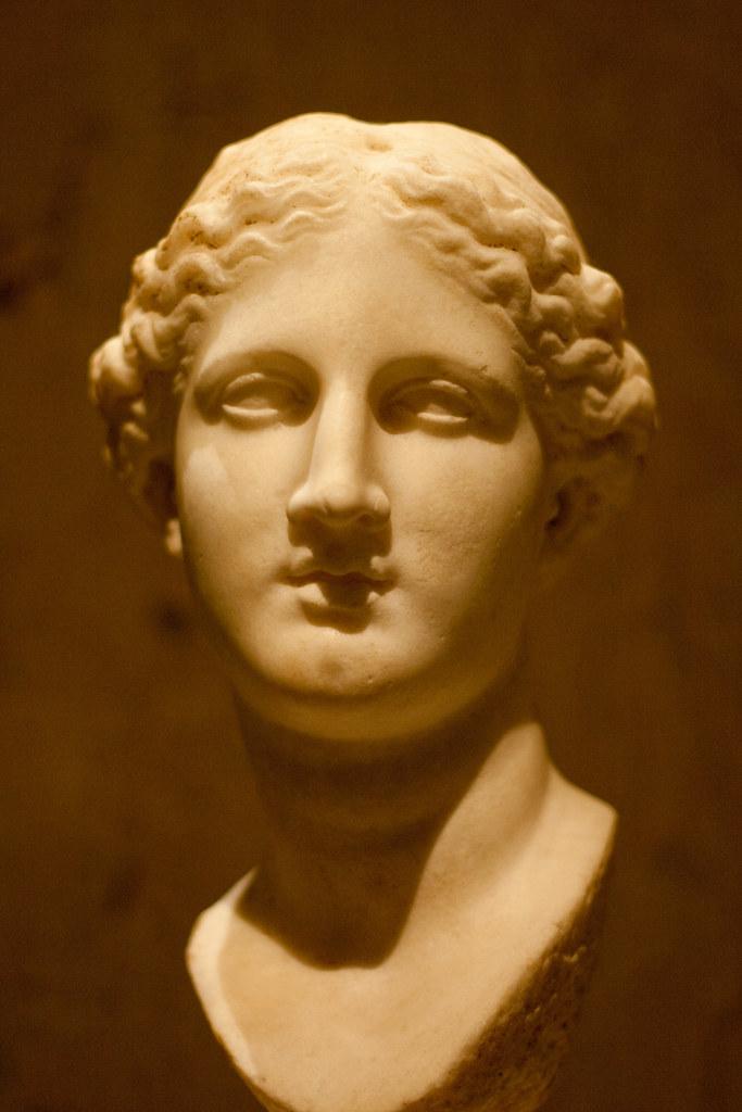 Artemis Statue Head Head of Artemis