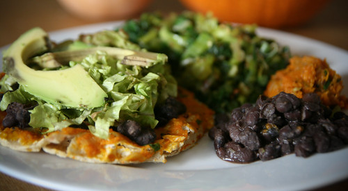 Black Bean and Sweet Potato Tostada | This impromptu tostada ...