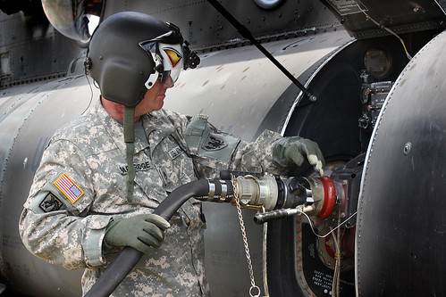 Fuel for flights - Natural Fire 10 - US Army Africa - 091011 | by US Army Africa
