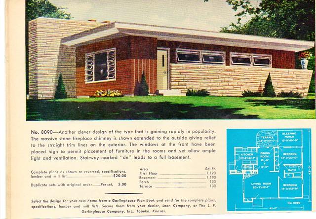 Homes and plans of the 1940's, 50's , 60's and 70's   Flickr on 1960s psychedelic design, 1960s pink bathroom design, 1960s graphic design, 1950s retro design,