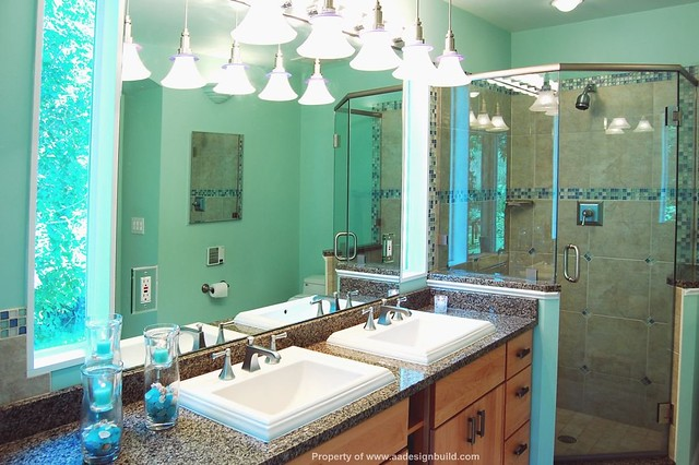 master bathroom corner tub corner shower germantown gaithersburg aa design build remodeling flickr