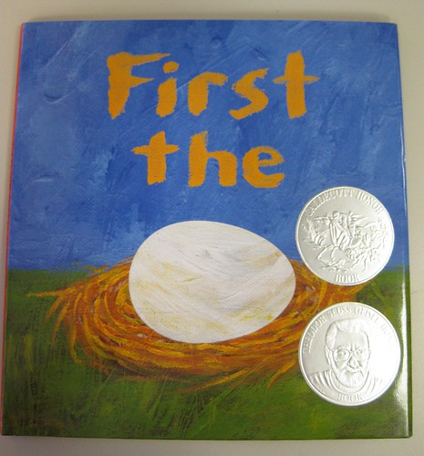 First the Egg by Laura Vaccaro Seeger with Jacket | by firstsecondbooks