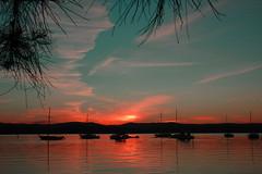 sunset warners bay  by Chrisjam2009