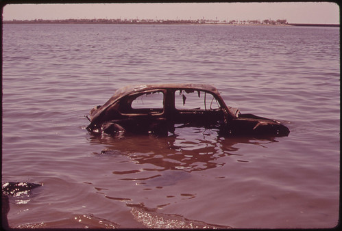 Abandoned Car in Jamaica Bay 06/1973 | by The U.S. National Archives