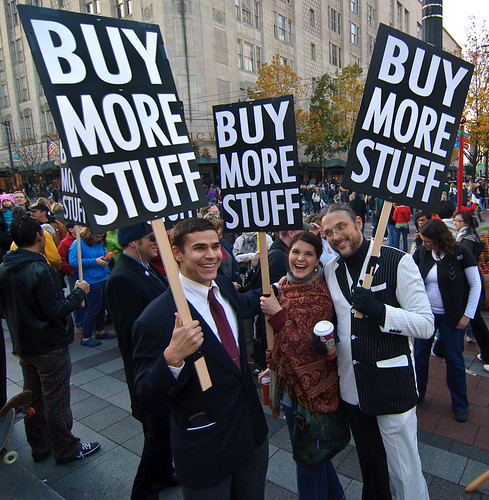 Buy More Stuff, Black Friday 2009 | by Michael Holden
