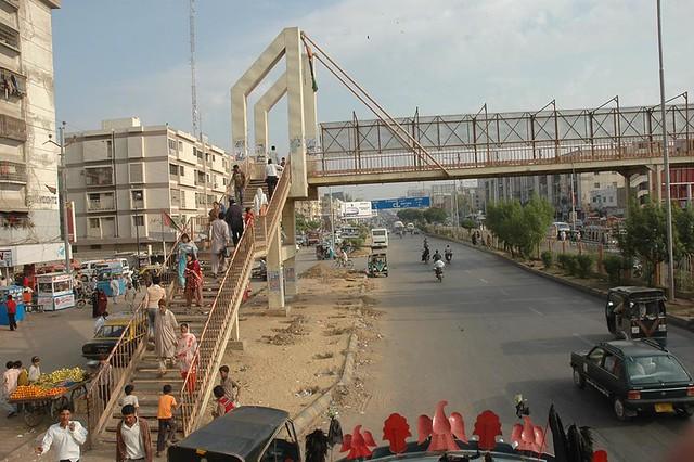 Karachi Pedestrian Bridges