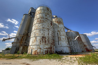 Old Grain Elevator | by Todd Ryburn