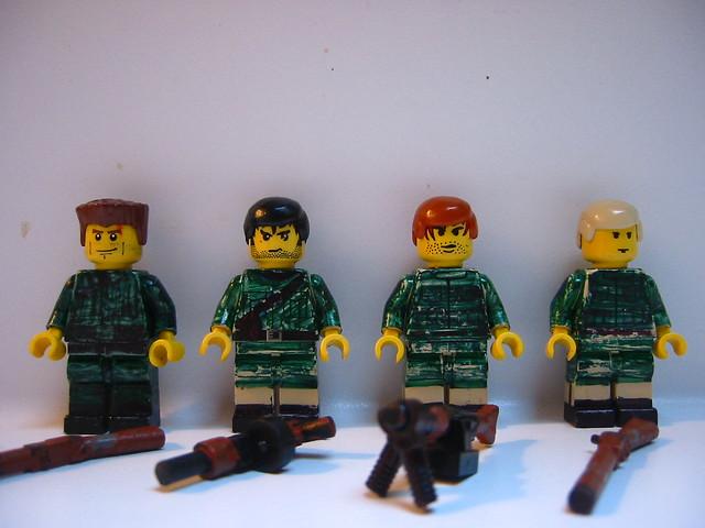 Custom Lego WWII Decals | Flickr