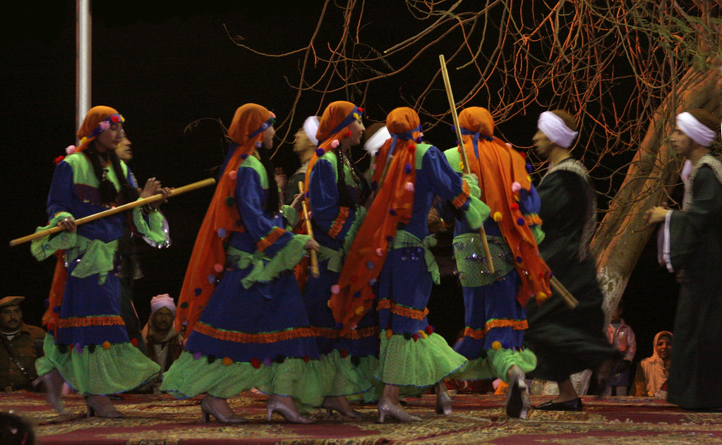 A Dance from the Sa'id | This folkloric dance was performed ...