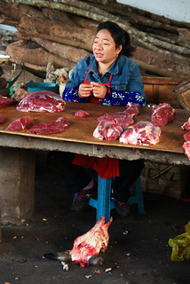 The Butcher. Yunnan, China | by The Hungry Cyclist