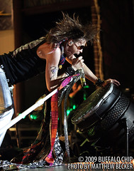 Steven Tyler live with Aerosmith on August 5, 2009 by Live Rock Journal