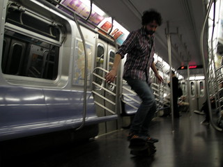 Surfin' the N train | by mauxfaux