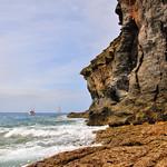 Costa entre Mogán y la playa de Tiritaña