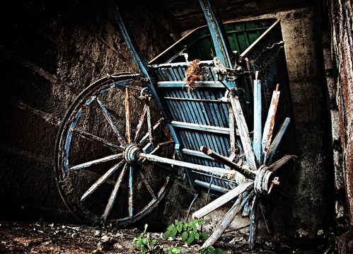 Abandoned Horse Wagon - Treated | by VinothChandar