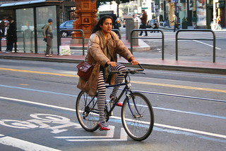 San Francisco cyclist | by Richard Masoner / Cyclelicious