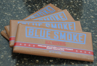 Blue Smoke's Salty Peanut-Jalapeno Chocolate Bar | by Scott Ableman