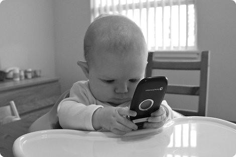 cell phone baby | by SparkCBC