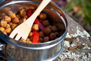 Roasted Chickpeas Lunch | by swellvegan