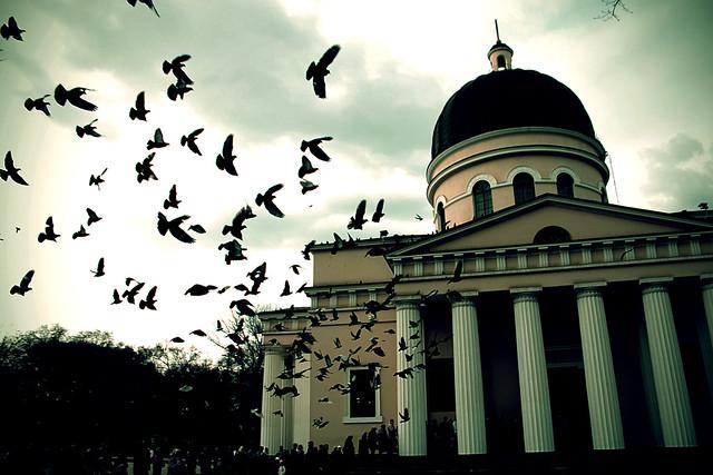 Chisinau Easter, モルドバにて; В кишиневе
