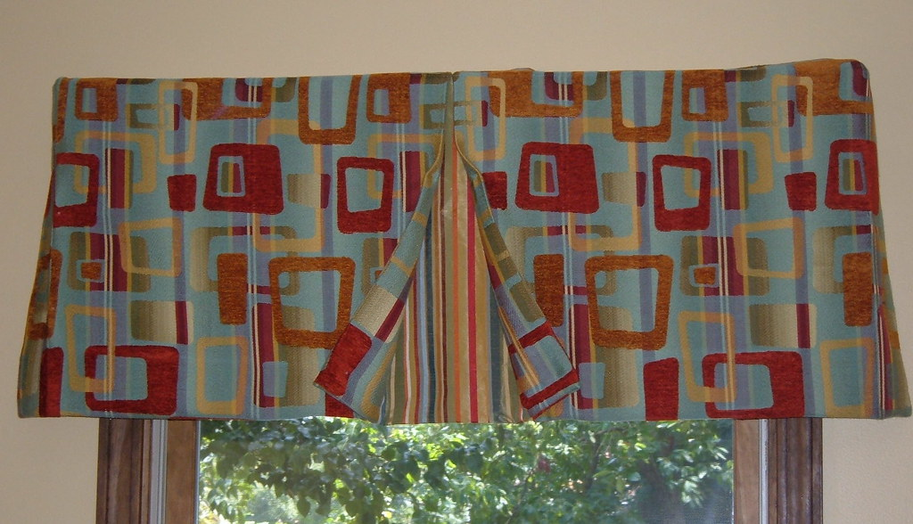 Box Pleat Window Valance Pattern Box Pleat Valance