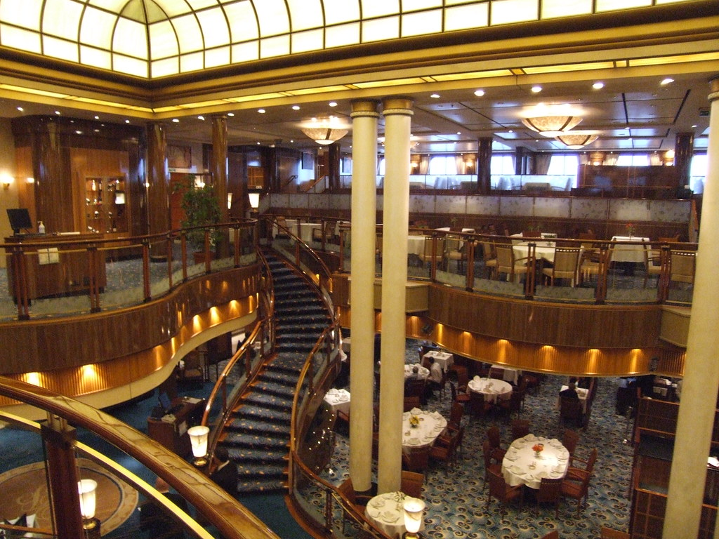 Queen Mary 2 Cruise Ship Queens Grill Suites  Cunard