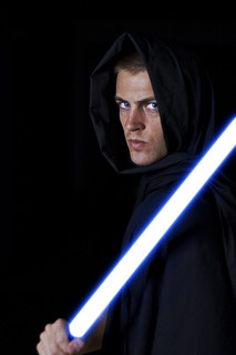 Day 53 - Jedi Lightsaber Video Tutorial (Strobist Wars 5 of 7) | by Scruba Images