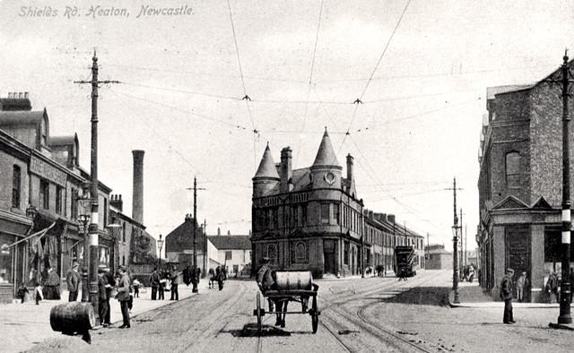 Shields Road, Byker 1908