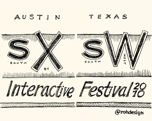 SXSW Interactive 2010: Title Page | by Mike Rohde