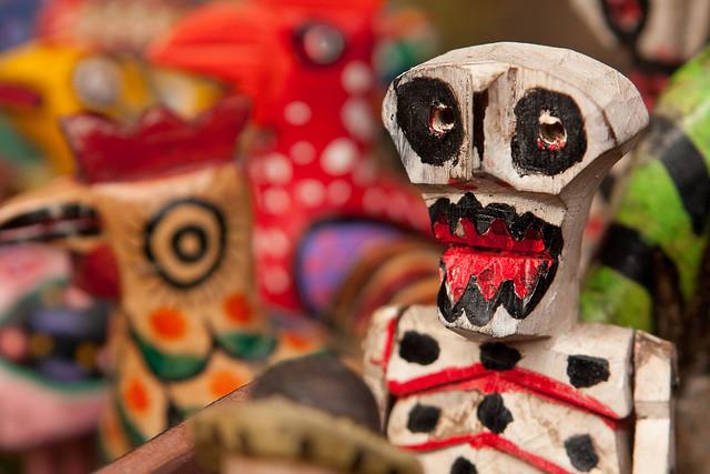 Dia de Los Muertos Figure in Chichicastenango