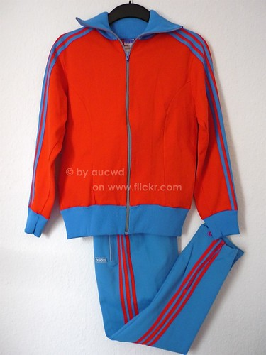 barricade adidas 80s tracksuits