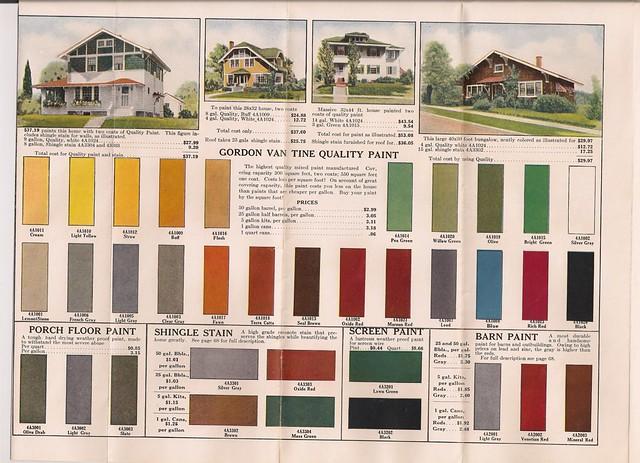 Top Exterior Paint Colors Exterior Paint Colors On: GVT Color Palette 1920's