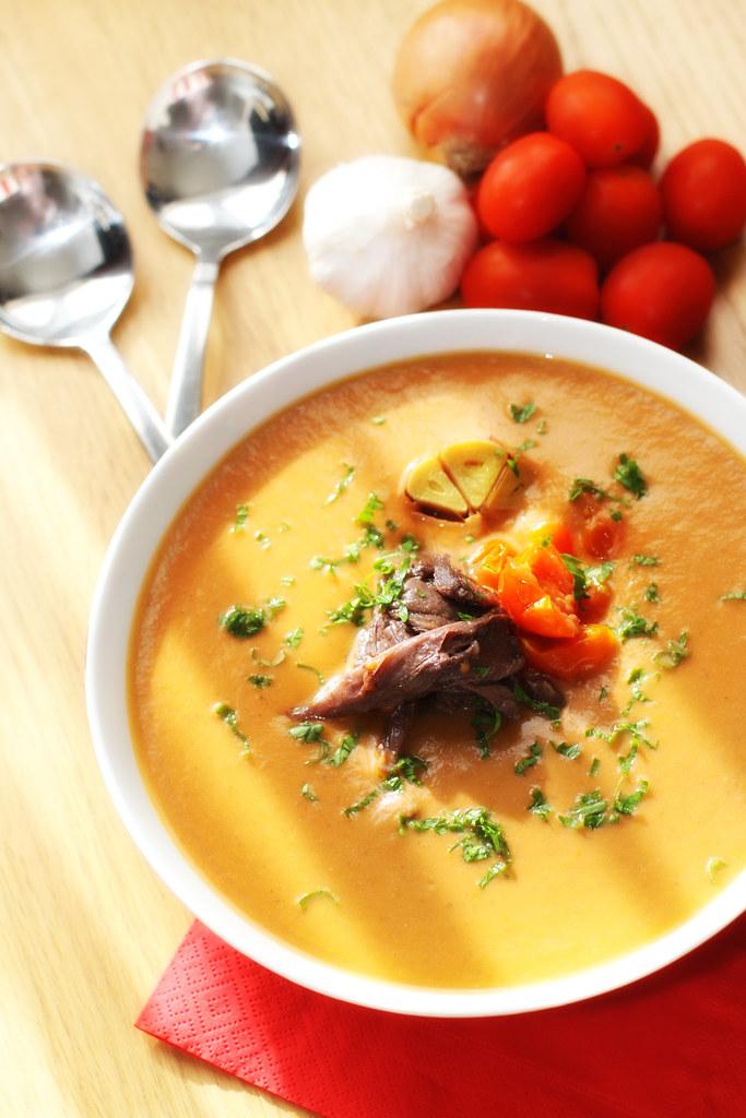 Gascony-Style Tomato Soup