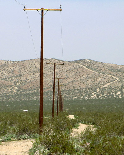My Continuing Obsession With Power Poles-Trail | by Barstow Steve