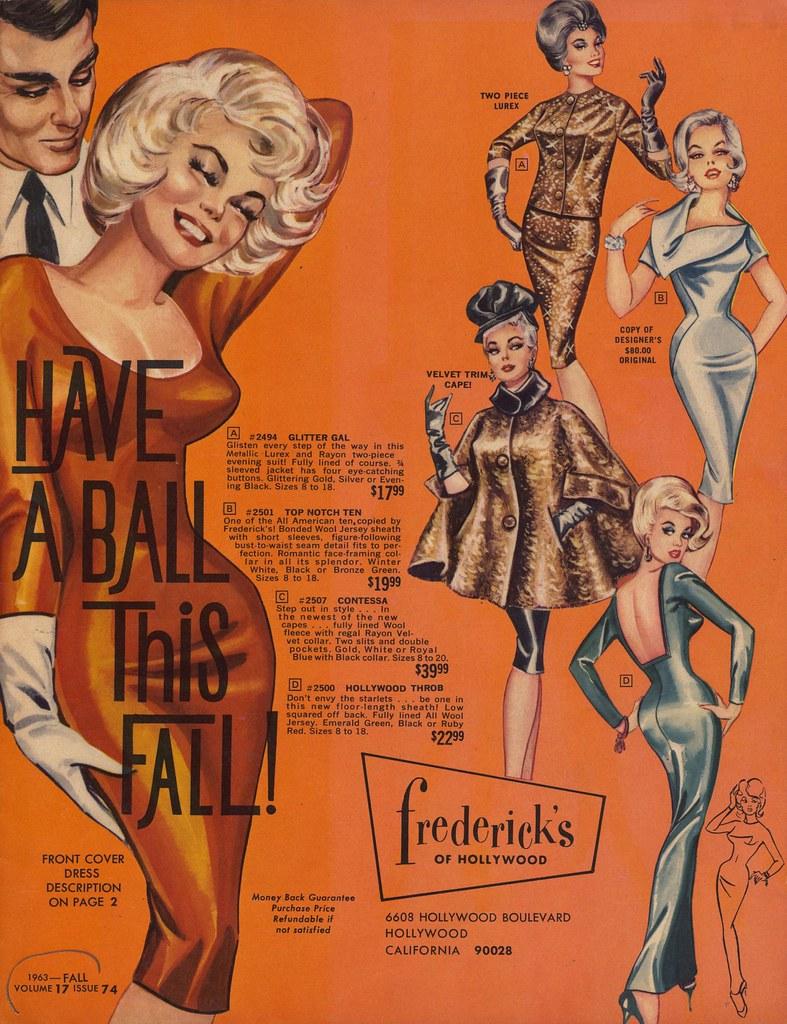 fall 1963 frederick 39 s of hollywood catalog flickr. Black Bedroom Furniture Sets. Home Design Ideas