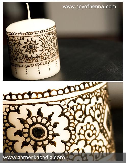 Mehndi Candles Facebook : Beautiful henna candles facebook makedes
