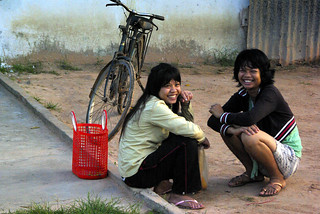 Waiting in Cambodia | by The Hungry Cyclist