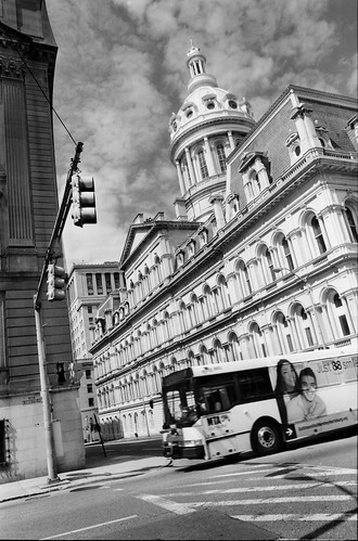 Baltimore City Hall. View from Guilford avenue. | by DeusXFlorida (9,505,955 views) - thanks guys!