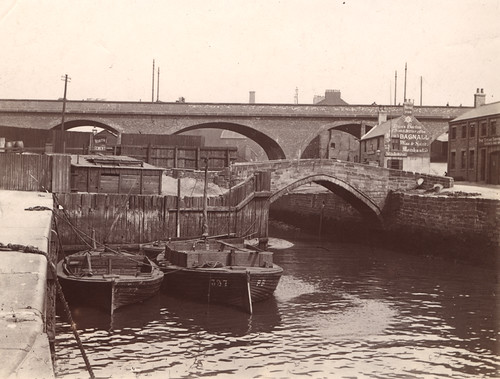 003362:Glasshouse Bridges Byker 1906