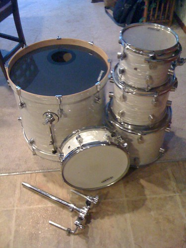 for sale in mn pacific drums white onyx maple cx 5pc flickr photo sharing. Black Bedroom Furniture Sets. Home Design Ideas