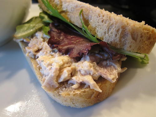 #99 - Chicken Salad on Spelt Bread | by katbaro