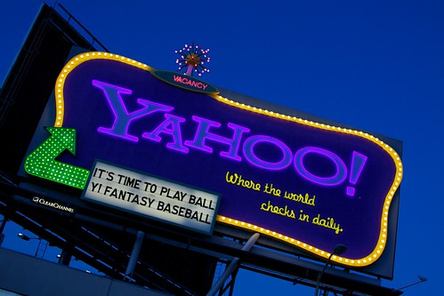 YAHOO! | by Chris Saulit