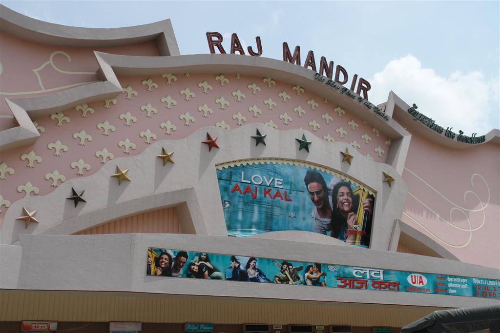 Qué ver en Jaipur: Exterior del Cine Raj Mandir qué ver en jaipur - 4142709369 e657eca989 o - Qué ver en Jaipur, India