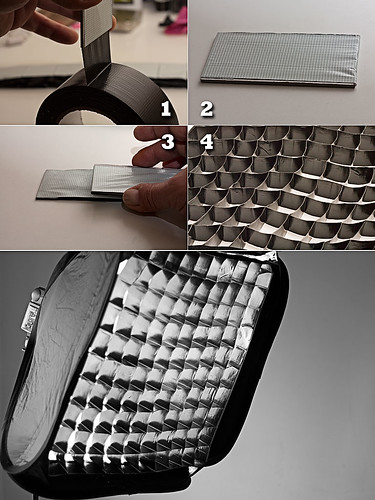 DIY Gaffer Tape Softbox Grid | by ☣ cUKi