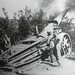 German heavy artillery fires late on in the war