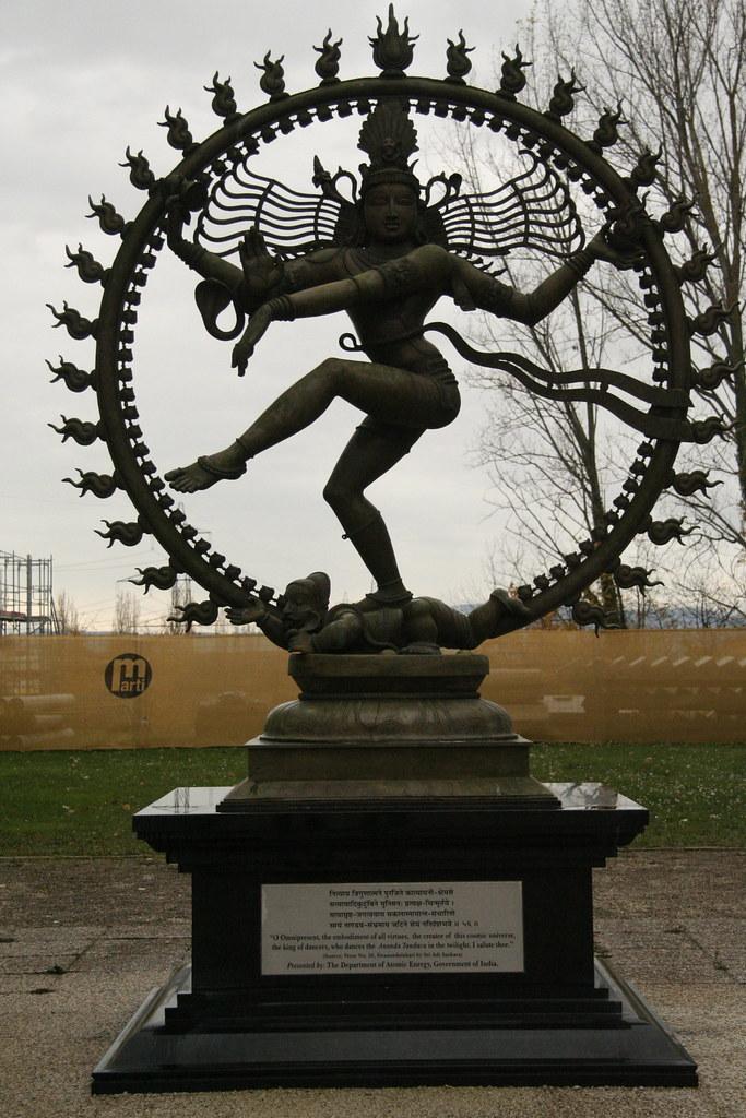 Shiva Statue Wallpaper Statue of Shiva as Nataraja