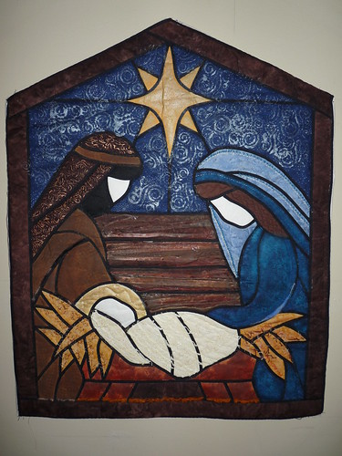 Nativity Quilt I Made This A Few Years Ago When I First