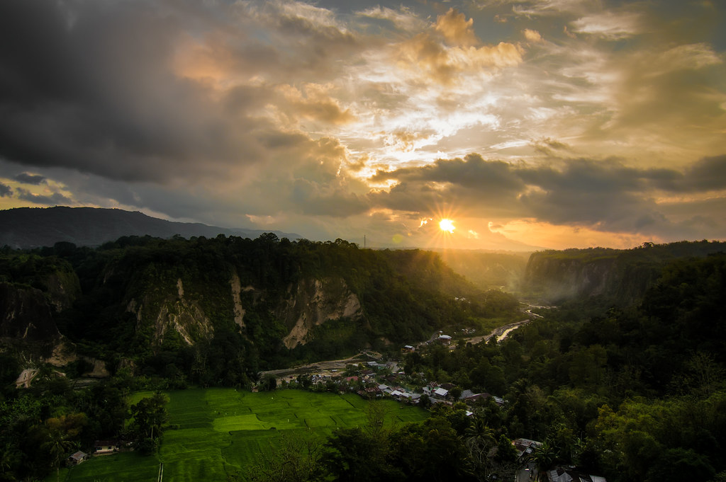 Bukittinggi Sunset - Sumatra, Indonesia