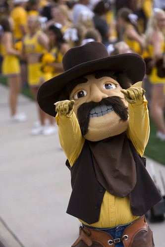 University of Wyoming Pistol Pete | by dtcchc