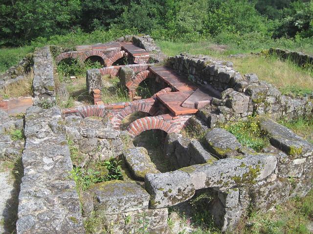 Baños Romanos Aquis Originis en Lobios