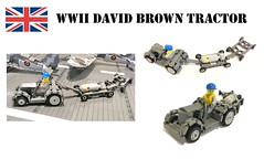 WW2 David Brown Tractor by Lego Admiral